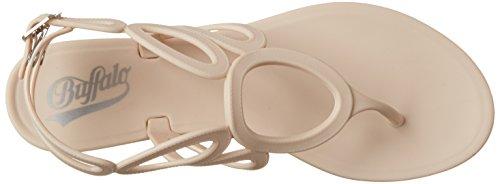 BUFFALO Pth-00137 Pvc, Protezioni Toe Donna Beige (Nude 01)