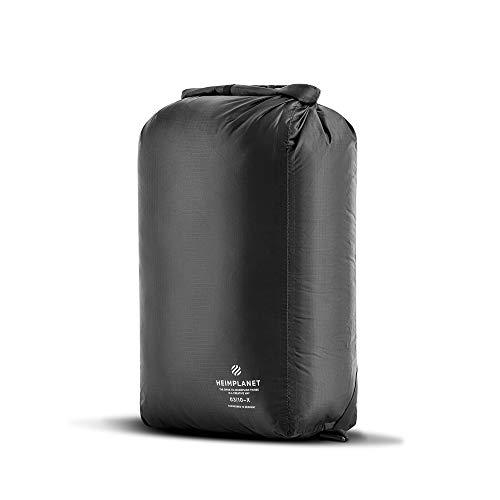 HEIMPLANET Original   Kit Bag 14L - Dry Bag   PVC-FREI   Wasserdichter Packsack mit verstellbaren Rucksackgurten - als Gym Bag tragbar   Material aus leichtem und robustem Ripstop Nylon -