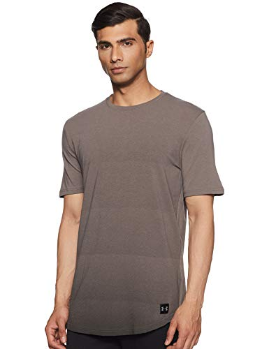 Under Armour Men's Plain Loose Fit T-Shirt (1318563-176_Fresh Clay_XX-Large)