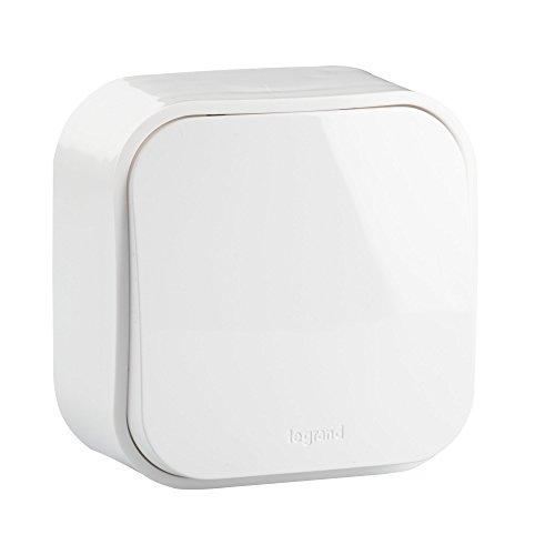 Legrand, PULSADOR Interruptor, 6A FORIX,color blanco