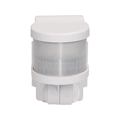 Für Eckmontage Bewegungsmelder Außenecke Aufputz Weiß 12m / 270° CR215W