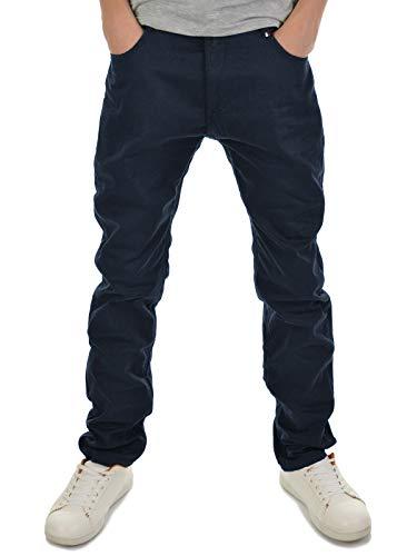 BEZLIT Kinder Jungen Thermo-Jeans Freizeit-Hose Winterhose Jeans-Hose Gefüttert 22879 Blau 140