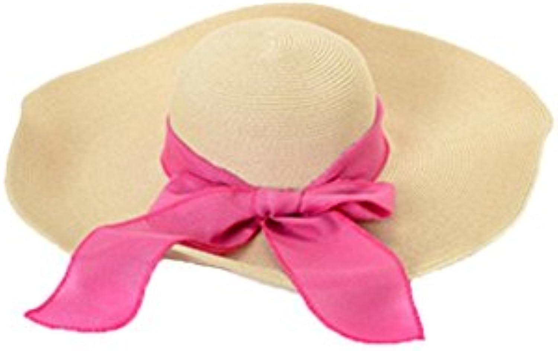 TD Cappello Cappello Estivo Visiera da Donna Cappello di Paglia Visiera Estivo  da Vacanza Mare Cappello da Spiaggia Prossoezione... Parent 5e8135 b8c76fad6e36