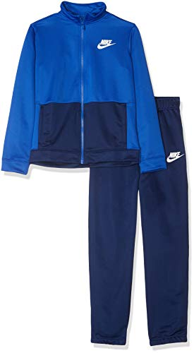 Nike Sportswear, Tuta Bambino, Blu (Game Royal/Blue Void/White 478), Medium