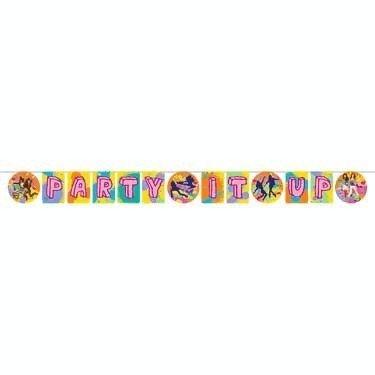 Shake It Up 'Party It Up' Celebration Banner (1ct) (Shake It Up-spielzeug)