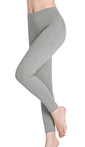CnlanRow Women Leggings Yoga Pants - Ultra Thin Stretch Soft Ankle Leggings for Women