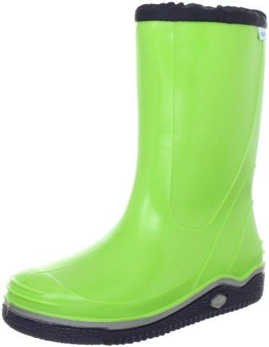 Nora Pelmo 72600, Bottes de pluie mixte enfant Vert-TR-J2-19