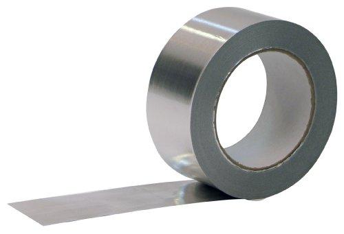 Aluminium Klebeband 100mmx50m 1 Rolle Profi-Qualität Isolierband Abdichtband Aluminium-Klebeband - 2