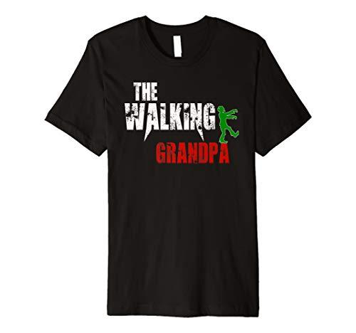 Grandpa gift t-shirt, Scary Walking Zombie Grandfather