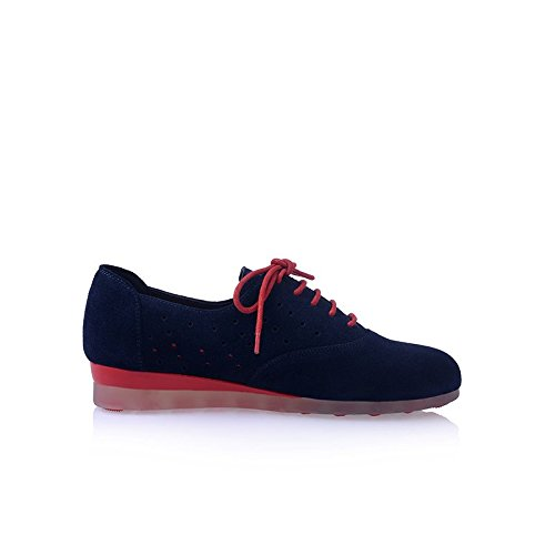 les femmes disent chaussures mode plat moins sur des baskets bleu vert blue