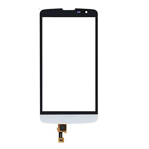 ERSATZTEILEFURLGSS Touch Panel for LG L Bello / D331 / D335 / D337 (Schwarz) (Farbe : Weiß)