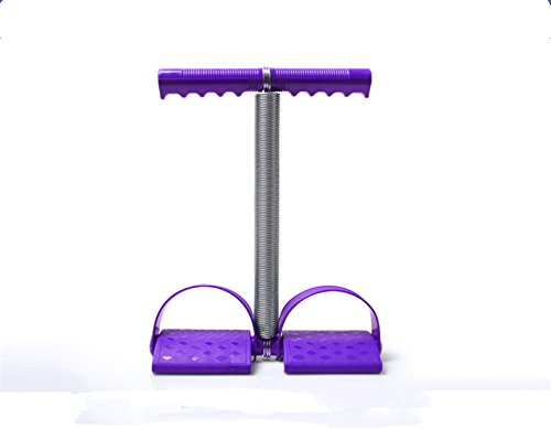 Elastic-Sit-Up-Pull-Rope-Spring-Tension-Rope-with-Handle-Foot-Pedal-Abdominal-Trainers-Multifunction-Leg-Exerciser-Weight-loss-Fitness-Yoga-Purple