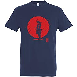 Pampling Camiseta Samurai Spirit - Japón - 100% Algodón - Serigrafía