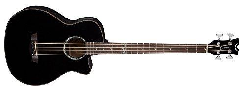 Dean Guitars EABS CBK Exotica Supreme basso acustico con Aphex Pre-Amp Classic, colore: nero