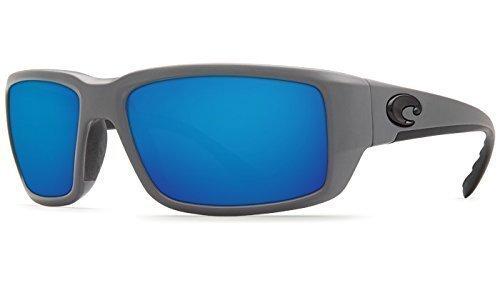 Costa Del Mar Herren 2graufächerschwanz, matt grau blau Spiegel, OS