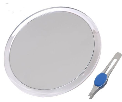 db-tech-large-25cm-suction-cup-8x-magnifying-mirror-with-precision-tweezers