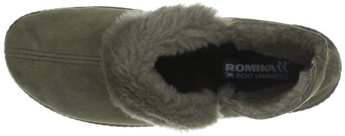 Romika Romilastic 102, Chaussons femme Gris-TR-E1-328