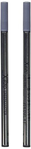 Penne Xezo Speedmaster fine rollerball ricariche, confezione da 2, nero Ink (Blackâ 6126Â Rollerballâ ricariche)
