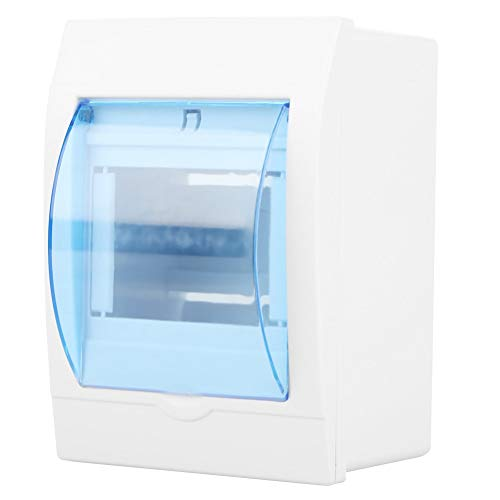 DLQHWY Leistungsschalter 1Pc Plastic Distribution Protection Box For 3-4 Ways Circuit Breaker Indoor On The Wall