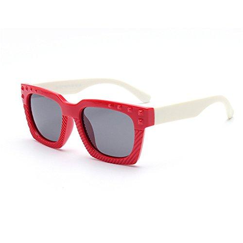 Sunglasseslifes Kinder klassisch polarisierte Sonnenbrillen Silikon-Material, sicher und sicher-UV400 Schutz Unisex,3