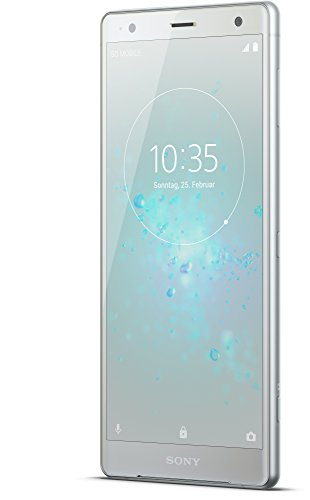 Image of Sony Xperia XZ2 Smartphone (14,5 cm (5,7 Zoll) IPS Full HD+ Display, 64 GB interner Speicher und 4 GB RAM, Dual-SIM, IP68, Android 8.0) Liquid Silver - Deutsche Version