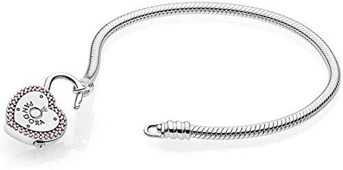 Pandora bracciale con charm donna argento - 596586fpc19
