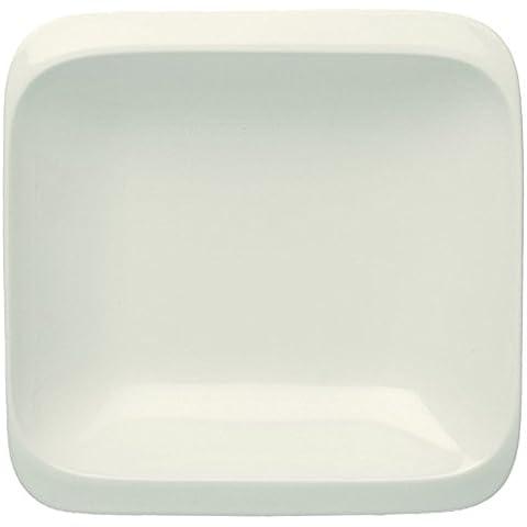 19,5 x 19,5 cm Infinity Tognana fuente sopera, blanco
