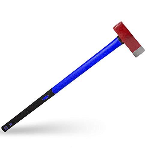 BITUXX 3,8Kg Spalthammer Spaltaxt Fiberglas Holzspalter Holzspalthammer