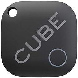 Cube Key Finder Traqueur intelligent GPS Tracker Bluetooth pour chiens, enfants, chats, bagages, porte-monnaie, avec application pour téléphone, dispositif de repérage de batterie étanche remplaçable