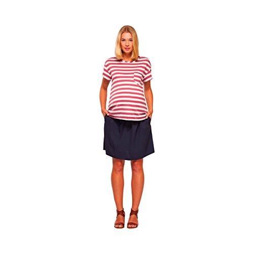 PAULA JANZ Le T-shirt de grossesse T-shirt de grossesse T-shirt de grossesse Rouge