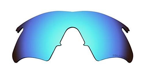 BVANQ Polarisierte Ersatz Gläser für Oakley M Rahmen Heizung, Neu (Nach 1999) Sonnenbrille Blau Spiegel Beschichtungen