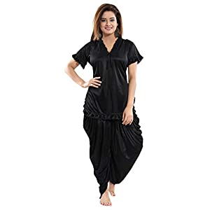 Fashigo Women's Patiala Top and Pyjama Set (Free Size)