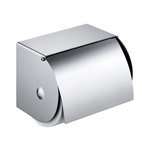 Porte-papier hygiénique Porte-papier hygiénique Boîte de rangement latérale Porte-serviette en papier tout compris Produits de salle de bain Porte-papier hygiénique Support mural (Couleur : A)