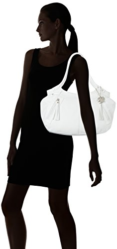 Butterflies Handbag (White)(BNS 0263)