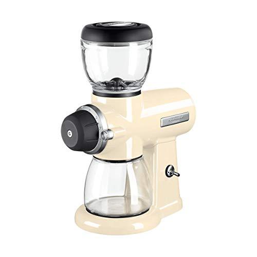 KitchenAid 5KCG0702EAC, ARTISAN Kaffeemühle mit Scheibenmahlwerk, CREME