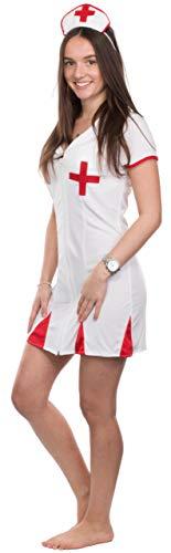 Kostüm Hebamme - Brandsseller Damen Kostüm Verkleidung für Karneval Fasching Halloween S - 34/46