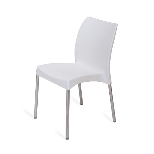 Nilkamal Novella Chair (White)