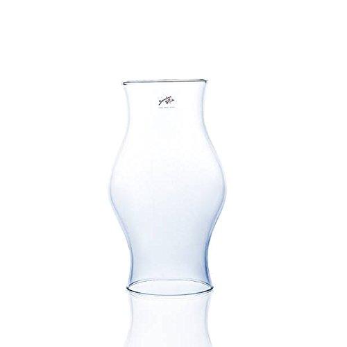 Glasröhre, Tube HURRICANE Glas klar H. 30cm D. 17cm beidseitig offen Sandra Rich -