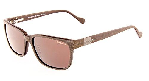 Sonnenbrille Herren TIMEZONE +Mikrofaser-Brillentuch Rainbow/DOMINICO-60