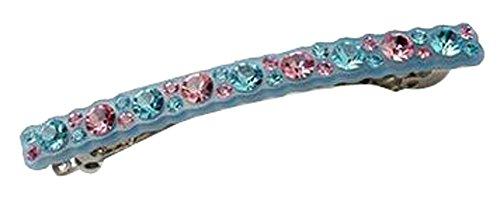 Mode coréenne clips ornement de cheveux arc noeud de printemps IDE clip bleu