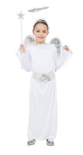 Kostüme Mädchen Ideen (Mädchen-Kostüm Engel für 11- bis 13-Jährige)