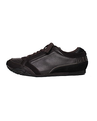 DIESEL - Sneakers A collo basso da Uomo HAROLD TAKE - Nero (Licorice/Black H3113), 45