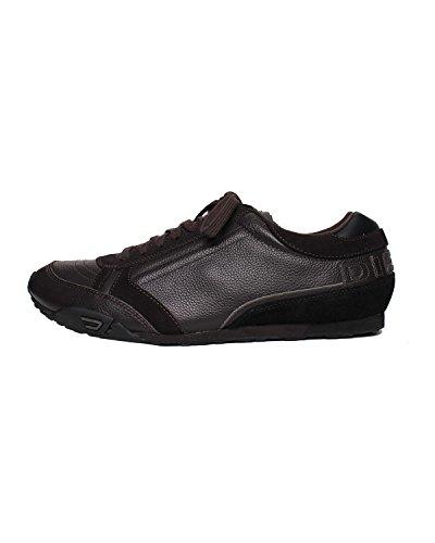 DIESEL - Sneakers A collo basso da Uomo HAROLD TAKE - Nero (Licorice/Black H3113), 45