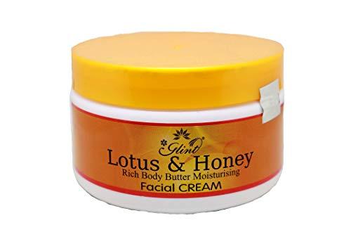 Glint Lotus & Honey Rich Body Butter Moisturizing Facial Cream 250g