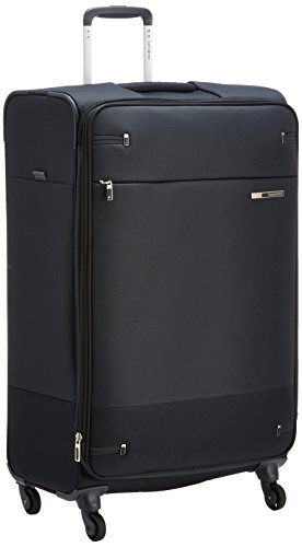 Samsonite Base Boost Spinner - Valigia, Nero, 78cm-112,5L