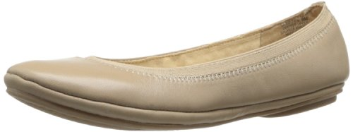 Bandolino Women's Edition Leather Ballet Flat,Natural,9.5 M US -