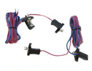 Piko oder LGB 2 Gleis - Anschlußkabel für Spur G und Spur II (64mm)