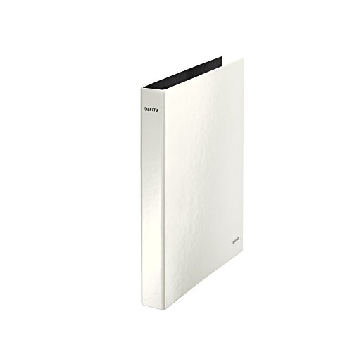 Preisvergleich Produktbild Leitz Ringbuch A4 2R, 25Mm, Perlweiss