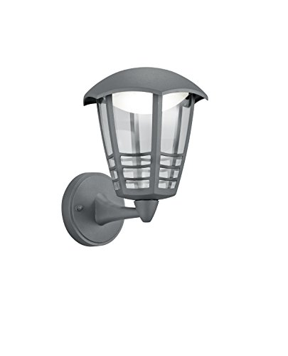Trio Alma Aplique de Exterior LED Integriert, 6 W, Antracita, 19,00 x...