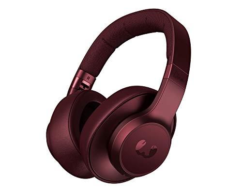 Auriculares Fresh 'n Rebel Clam ANC Ruby Red | Auriculares Bluetooth para colocar sobre las orejas con reducción activa de ruido